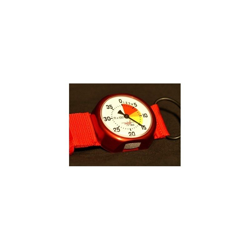 ALTIMETRE FT60 ROUGE